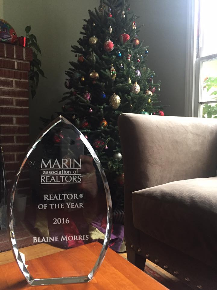 Realtor of the Year, Blaine Morris